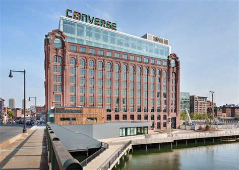 nike siege social converse inaugure siège mondial à boston actualité