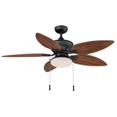 home depot ceiling fans outdoor hton bay edgewater ii 52 in indoor outdoor