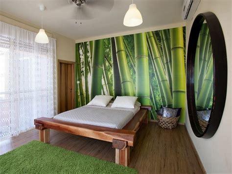 chambre en bambou décoration chambre bambou