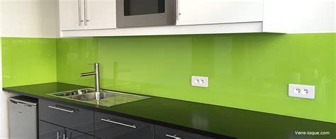 faience pour credence cuisine verre laqué sur mesure couleurs au choix professionnel