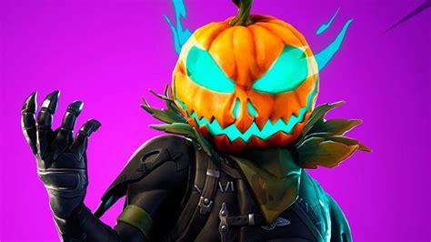 nueva skin halloween  de fortnite thegrefg youtube
