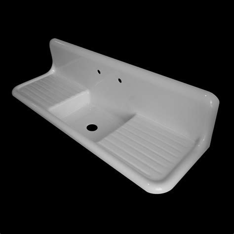 Single Bowl with Double Drainboards   Model #SBDW6020 NBI
