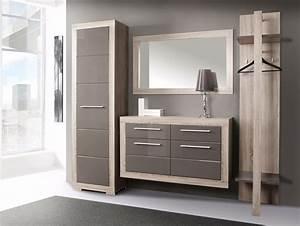 Garderoben Set Weiß Grau : amberg garderobenset eiche sonoma grau grau hochglanz ~ Bigdaddyawards.com Haus und Dekorationen