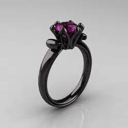 purple wedding rings black and purple engagement ring me up engagement rings and