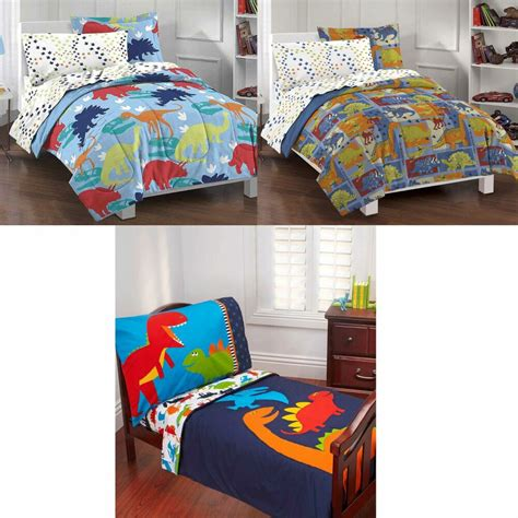 Toddler Boy Bedroom Sets Uk by Dinosaurs Bedroom Set Boys Bed In A Bag Comforter