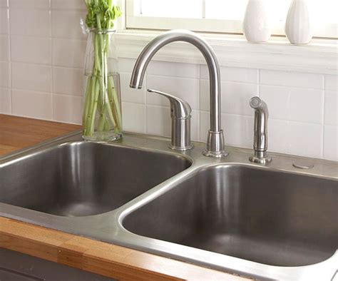 air in kitchen faucet how to install a sink and faucet