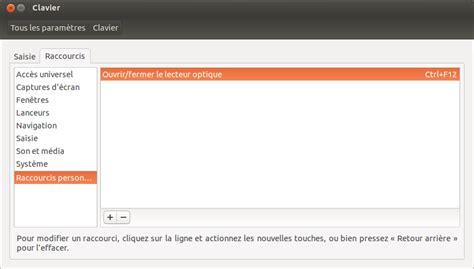 ubuntu raccourci bureau ubuntu créer un raccourci clavier pour ouvrir et fermer