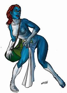 Comic to movie Mystique by TheComicFan on DeviantArt
