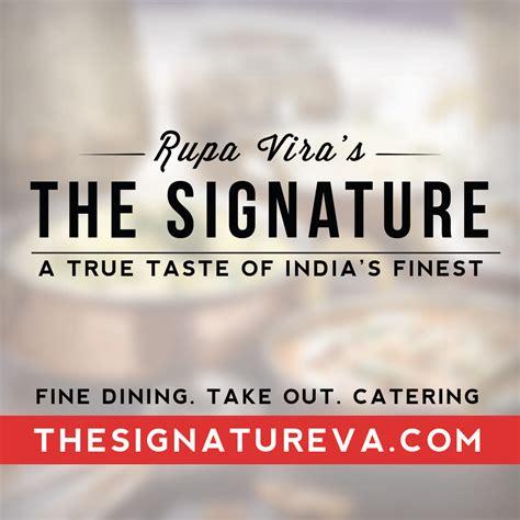 signature cuisine rupa vira 39 s the signature finest indian cuisine