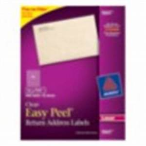 easy peel white address labels 5167 With avery 5667