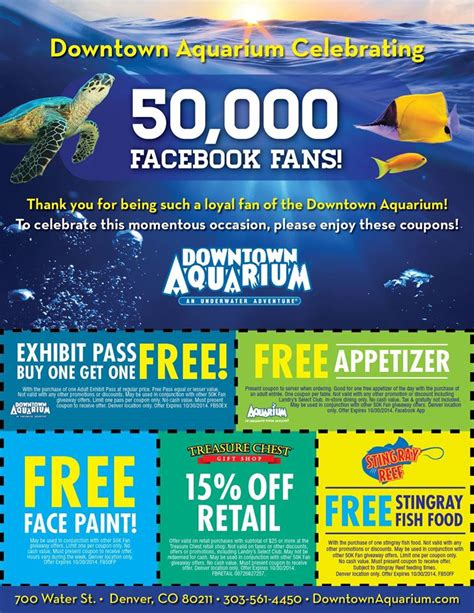 downtown aquarium coupons denver aquarium coupons