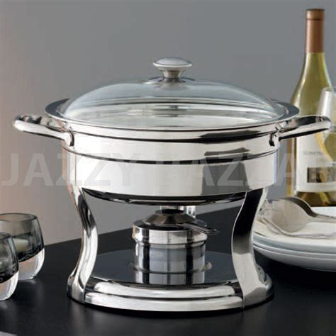chafing dish warmer bain food warmer chafing dish 18 10 stainless steel 2074
