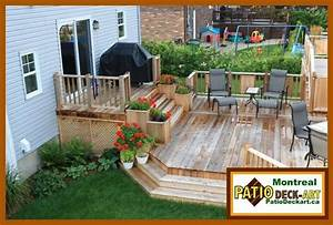 PATIOS BOIS MODELE DESIGN VIDEO DECK CEDREPHOTO