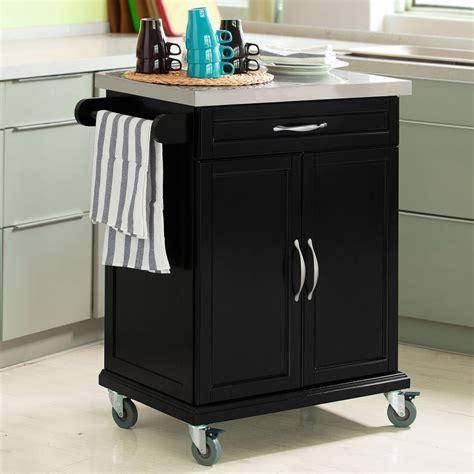 kitchen island trolleys sobuy wood kitchen cabinet kitchen cart trolley with