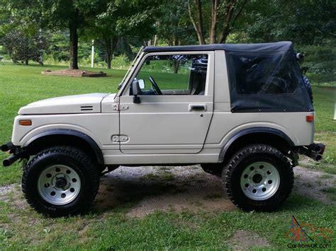 Suzuki Samurai Diesel For Sale 1988 suzuki samurai 1 9 turbo diesel jeep