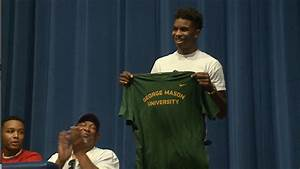 Justin Kier talks about his commitment to George Mason ...