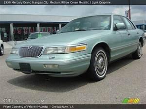 Medium Willow Green Metallic - 1996 Mercury Grand Marquis Gs