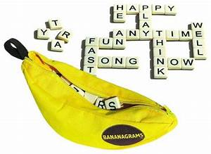 6 fun gift ideas for girls age 10 to 12 With banana letter game