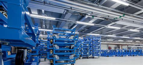 illuminazione industriale illuminazione industriale a led per bmw a dingolfing