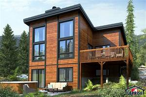 designer zen contemporary chalet waterfront homes With escalier de maison exterieur 1 escalier maison bois moderne deco maison moderne