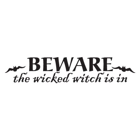 witch   wall quotes decal wallquotescom