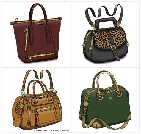 handbag purse design illustration sketch drawing cad