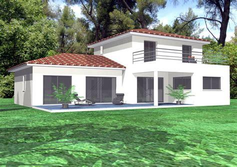 maison contemporaine en provence d 233 du plan de maison contemporaine en provence faire