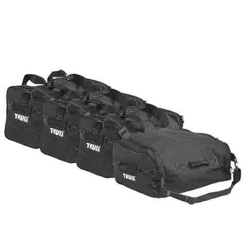 rangement pour coffre de voiture jeu de sac de rangement gopack set 8006 thule pour coffre norauto fr