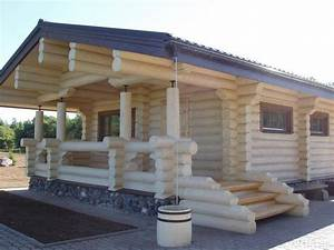 chalet fuste rondin wwwmaisonboiskitsfr With maison en rondin prix 6 construire sa maison en bois en kit soi meme