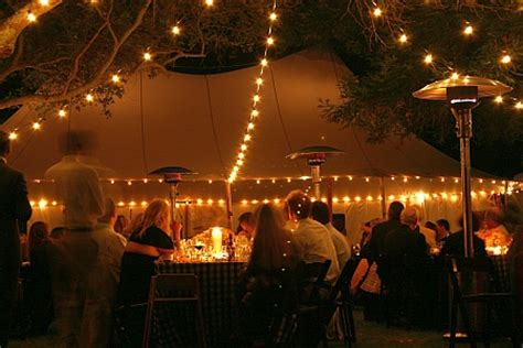 outdoor wedding dilemma   stars