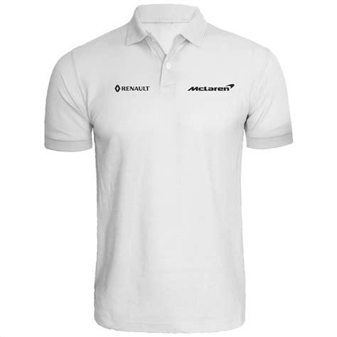 mclaren reanult team polo shirt  racing auto
