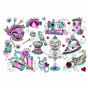 Flash Sheet Number 1 Sewing Tattoos