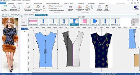 cad fashion scopri linnovativo software  crea solution