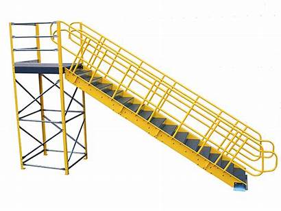Stairs Stair Wildeck Modular Landings Industrial Steel