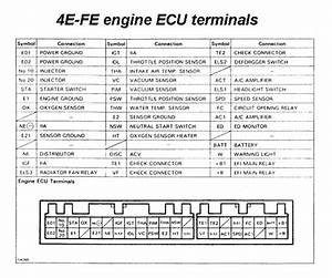 Ecu Connector Pinouts