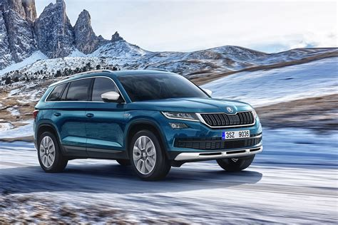 renault geneva new skoda kodiaq scout to start from 32 330 auto express