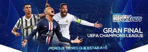 Le tirage des quart de finale de la ligue des champions 2021 est prévu le vendredi 19 mars 2021 à 12h00 heure de paris. Final Champions League 2021 | Deportours