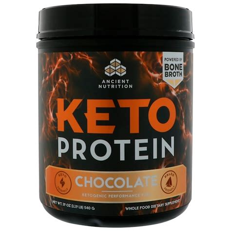 dr axe ancient nutrition keto protein ketogenic