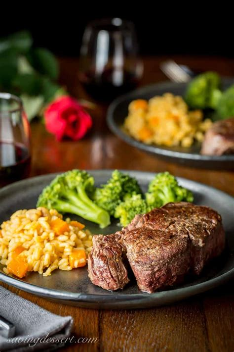 Season them well with salt and pepper, to taste. Beef Tenderloin with Herb Pan Sauce-1 - Saving Room for ...