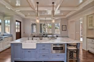 carrara marble kitchen island 63 beautiful traditional kitchen designs designing idea