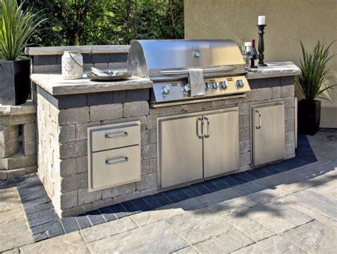 unilock outdoor kitchens brussels block dimensional outdoor grill photos