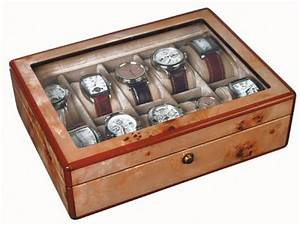 Boite A Montre Homme : syll des coffrets montres en bois de citronnier ou de macassar de 4 24 pi ces ~ Teatrodelosmanantiales.com Idées de Décoration
