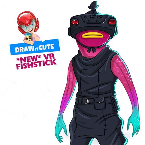 draw  vr fishstick fortnite season  draw  cute