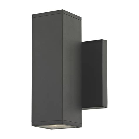 led wall light square led black outside wall light square cylinder up down 3000k 1774 07 s9383 led 3000k