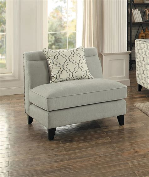 Armless Sofa Slipcover by Furniture Armless Chair Slipcover For Room With Unique