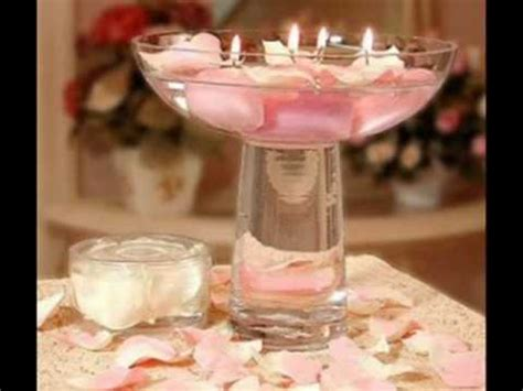 wedding floating candles centerpieces wmv