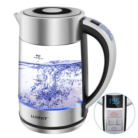 kettle water electric glass 1500 appliances