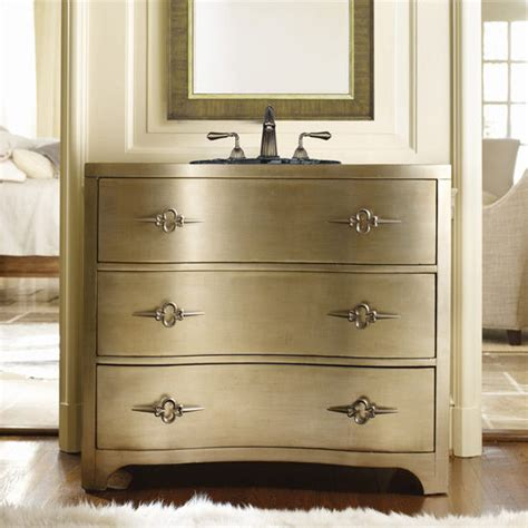 Cole And Company Vanities by Metallic Bathroom Vanities A Surprising New Trend For A