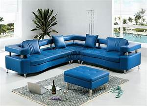 20 collection of blue leather sectional sofas sofa ideas for Custom contemporary sectional sofa