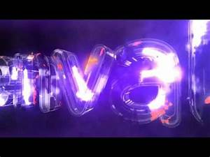 Neon Energy Glass Light Logo After Effects template from
